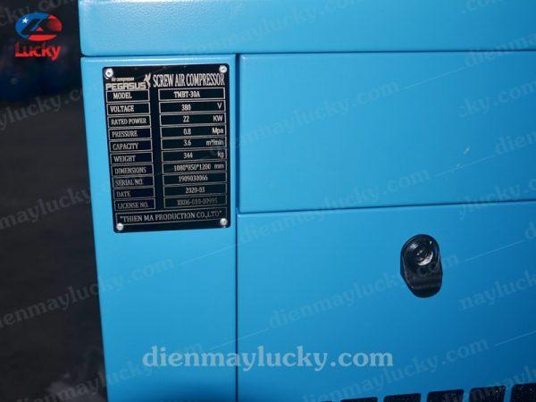 máy nén khí trục vít mini